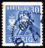 Postage stamp Sweden 1939 Jons Jacob Berzelius, Chemist — Stock Photo