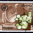 Postage stamp Dubai 1970 World Meteorological Day — Stock Photo