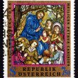 Postage stamp Austria 1997 St. Peter Canisius — Stock Photo
