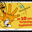 Postage stamp Germany 2003 Five Digit Postal Codes — Stock Photo