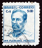 Postage stamp Brazil 1947 Marshal Floriano Peixoto — Stock Photo