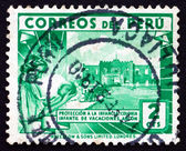 Postage stamp Peru 1938 Children's Holiday Center, Ancon — Stock Photo