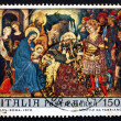 Stock Photo: Postage stamp Italy 1970 Adoration of Kings
