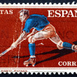 Postage stamp Spain 1960 Hockey on Roller Skates — Stock Photo #40301549