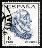 Postage stamp Spain 1967 St. Ildefonso, Scholar and Theologian — Foto Stock