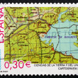 Postage stamp Spain 2007 Map, Cartography — Stock Photo #40362791