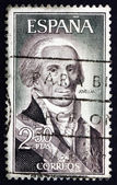 Postage stamp Spain 1965 Gaspar Melchor de Jovellanos, Statesman — Stock Photo