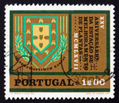 Postage stamp Portugal 1970 Emblem of Plant Research Station — Stock Photo
