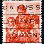 Postage stamp Spain 1960 St. Vincent de Paul, Priest — Stock Photo