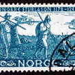 Postage stamp Norway 1941 Before Battle of Stiklestad — Stock Photo #40710317