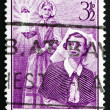 Stock Photo: Postage stamp Australi1955 Florence Nightingale, Nurse