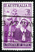 Postage stamp Australia 1955 Florence Nightingale, Nurse — Stock Photo