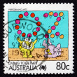 Postage stamp Australia 1988 Performing Arts, Living Together — Stock Photo
