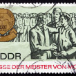 Postage stamp GDR 1967 Masters of Tomorrow Fair — Stock Photo #40798209