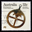 Stock Photo: Postage stamp Australi1985 Astrolabe from Batavia, 1629
