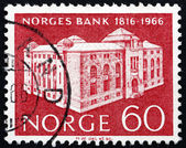 Postage stamp Norway 1966 Bank of Norway — Stock Photo