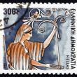 Postage stamp Greece 1986 Hera, Goddess of Women and Marriage — Stock Photo