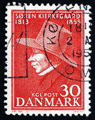 Postage stamp Denmark 1955 Soren Kierkegaard, Philosopher — Stock Photo