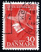 Postage stamp Denmark 1955 Soren Kierkegaard, Philosopher — Stock Photo
