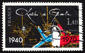 Postage stamp France 1980 Charles de Gaulle — Stock Photo