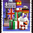 Postage stamp Australia 1979 Letters and Flag-wrapped Parcels — Stock Photo