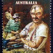 Stock Photo: Postage stamp Australi1986 Click Go Shears