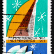 Postage stamp Australia 1975 Spirit House, Papua New Guinea — Stock Photo #41417999