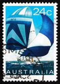 Postage stamp Australia 1981 Ocean Racer, Yacht — 图库照片