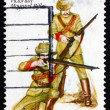 Postage stamp Australi1985 VictoriMounted Rifles, Uniforms — Stock Photo #41436231