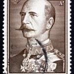Постер, плакат: Postage stamp Greece 1956 George I King of Greece