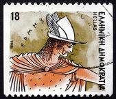Postage stamp Greece 1986 Hermes, Greek God — Stock Photo