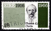 Postage stamp Ireland 1966 Thomas James Clarke, Revolutionary — Stock Photo