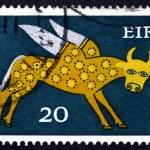 Постер, плакат: Postage stamp Ireland 1971 Winged Ox