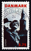 Postage stamp Denmark 1995 General Montgomery, Liberation — Stock Photo