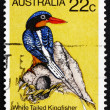 Postage stamp Australia 1980 White Tailed Kingfisher, Bird — Stock Photo
