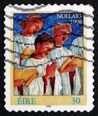 Postage stamp Ireland 1998 Choir Singers, Christmas — Stock Photo