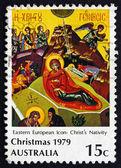 Postage stamp Australia 1979 Nativity, Christmas — Stock Photo