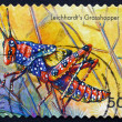 Postage stamp Australia 2003 Leichhardts Grasshopper, Insect — Stock Photo #42010633