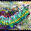 Postage stamp Australia 2003 Emperor Gum Moth Caterpillar — Stock Photo