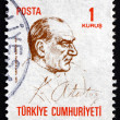 Postage stamp Turkey 1970 MustafKemal Ataturk — Stock Photo #42016163