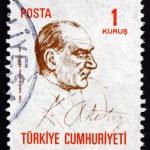 Postage stamp Turkey 1970 Mustafa Kemal Ataturk — Stock Photo #42016163