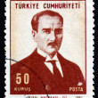 Postage stamp Turkey 1968 MustafKemal Ataturk — Stock Photo #42016199