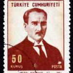 Postage stamp Turkey 1968 Mustafa Kemal Ataturk — Stock Photo #42016199