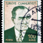 Postage stamp Turkey 1971 Mustafa Kemal Ataturk — Stock Photo