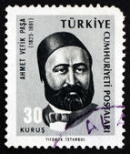 Postage stamp Turkey 1965 Ahmet Vefik Pasha, Playwright — Stock Photo