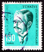Postage stamp Turkey 1964 Salih Zeki, Ottoman Mathematician — Stock Photo