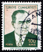 Postage stamp Turkey 1971 Mustafa Kemal Ataturk — Stock Photo