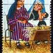 Postage stamp Australia 1986 Holy Family — Stock Photo