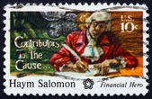 Postage stamp USA 1975 Haym Salomon — Stock Photo