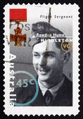 Postage stamp Australia 1995 Rawdon Hume Middleton, Pilot — Stock Photo